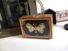 Stunning Curled Paper Butterfly Box Purse One by GoodCharmVintage, $28.00