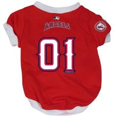 Los Angeles Angels Pet Dog Baseball Jersey MEDIUM from MLB at  buydogsweaters.com Only $14.95
