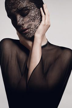Givenchy Haute Couture, Mask, Veiled