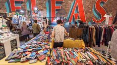 Trying to find a great flea market? NYC's markets are prime real estate for vintage finds, antiques, delicious food, craft goods and more.