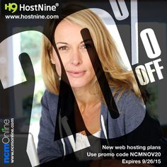 HostNine's low prices just got even lower! But you'll need to act quickly as this offer simply will not last. Purchase a new web hosting plan today to get HostNine's fast, easy-to-use, and reliable hosting for 20% off their already low prices. Use coupon code above when placing your order. Coupon Codes, Coupons, Coding, How To Plan, Easy, Coupon, Programming