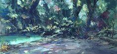 「灰と幻想のグリムガル」森や街などを描いた美術ボードとPV第1弾が公開 画像(7) : ニュース - アニメハック