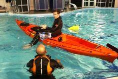 Cómo - rescate auto sentarse en la guía de kayak de pesca superior
