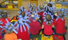 These Dr. Seuss activities are perfect for a Dr. Snacks, math, art and crafts, literacy, and dress up Dr. Seuss activities for preschool. Dr Seuss Activities, Preschool Activities, Book Activities, Classroom Art Projects, Classroom Fun, Dr Seuss Week, Dr Suess, Headband Crafts, Headbands