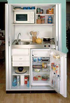 Rental unit kitchenette