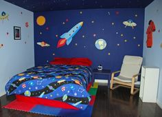 Kids bedroom ideas | Space Themed Room Ideas