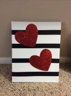 58 Trendy ideas for canvas art ideas for toddlers mothers day- … – Valentines Day 2020 Ideas Diy Canvas Art, Diy Wall Art, Diy Art, Valentine Day Crafts, Valentine Decorations, Pop Art Party, Fall Art Projects, Button Art, Diy Painting