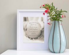House Quote Print Housewarming Gift House by OceanDropPhotography, $27.50