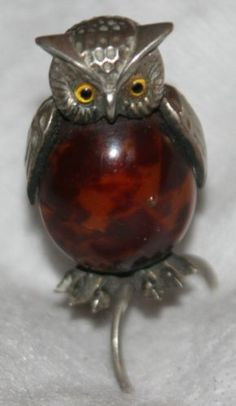 Antique c1800's Victorian Sterling Silver Owl Tape Measure Egg Body | eBay