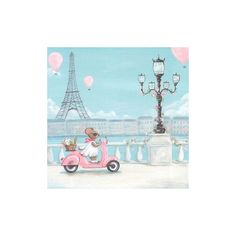 Pink Vespa Canvas Wall Art (175 BRL) found on Polyvore featuring home, home decor, wall art, pink canvas wall art, pink wall art, eiffel tower home decor, canvas wall art and paris canvas wall art