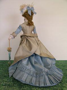 French fashion doll by Anne in Scottsdale, via Flickr