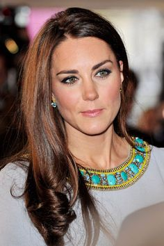 Duchess Kate close-up (shiny hair!) at African Cats