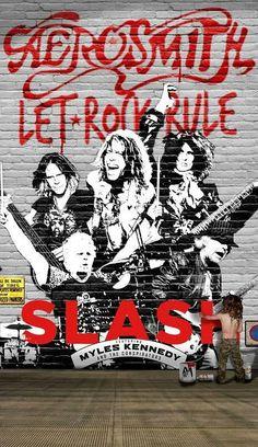 AEROSMITH - Slash li raggiunge sul palco del Whisky A Go Go (video)