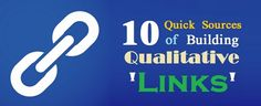 Qualitative #LinkBuilding Hails From These Amazing Sources - #backlinks