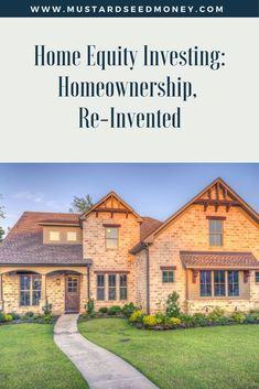 Ever consider home equity investing? Unison is a c…