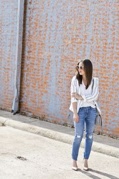 Ali Bronska of A Dash of Details featuring Vince, Frame Denim, Neiman Marcus, Nordstrom, Gorjana and Chloe.