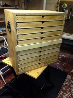 Tool Chest with Trays - Woodworking Talk - Woodworkers Forum-SR: