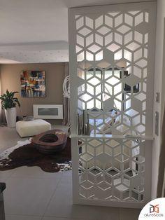 Claustra / Brise vue d'intérieur aux motifs géométriques très design