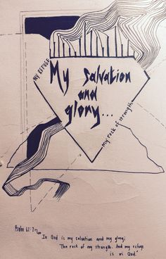 """""""In God is my salvation and my glory; The rock of my strenght. And my refuge is in God. """"  Psalm 62:7  #FOODchallenge"""