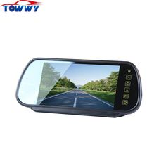 OEPZ709 LCD 7 inch Analog Panel Car Rearview Monitor With MP5 Function 2 Way Video Input