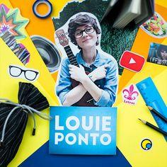 Vlogs e covers puro amorzinho no canal ds Louie Ponto #FazendoArteNaDia #scrapbooking