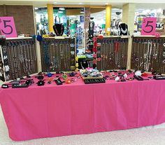 Cute, simple Paparazzi display....still can't believe all that jewelry is just $5 each!!