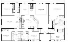 40x60 barndominium floor plans - Google Search | House Stuff/Ideas ...