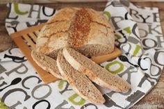 Pan cuatro harinas integral