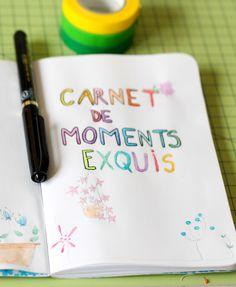Ecrire chaque jour les moments exquis de la journée : vive la positive attitude !