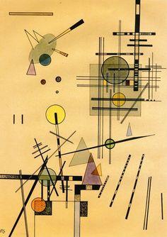Strings ~ Wassily Kandinsky