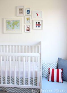 Baby Boy Nursery Ideas: Travel Around the World Theme | Chic  Cheap Nursery™