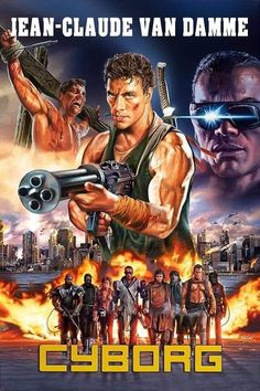 Is this some strange concoction of a gun really from this movie or is it just painted by a non-gun person? Action Movie Poster, Best Movie Posters, Movie Poster Art, Action Movies, Fantasy Movies, Sci Fi Movies, Movie Tv, Claude Van Damme, Movie Covers