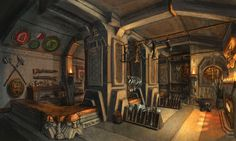 THRONE ROOM - Iron Forge Clan - Xit Woundz - Polycount Forum