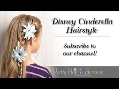 How To: Disney CINDERELLA Hairstyle Tutorial | Lily James | Pretty Hair is Fun - YouTubeBraid Hairstyles, Braids, braids tutorial, braids for short hair, braids for short hair tutorial, braids for long hair, braids for long hair tutorials...
