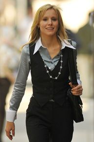 I liked Kristen Bell's wardrobe in the movie When in Rome.