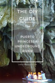 A complete DIY guide to visiting the Puerto Princesa Underground River in Sabang, Palawan, inclusive of guidance on getting the required permits.