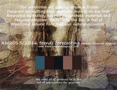 AW2015/2016 trends forecasting for Women, Intimate Apparel - Our wardrobes are turning Green & Stylish. Designers are putting their aest...