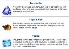 #Tanzanite # Tiger's Eye #Topaz # gem stone's Masai Tribe, Crystal Meanings, Gemstones Meanings, Gemstone Properties, Psychic Development, Good Fortune, Solar Plexus Chakra, Believe In Magic