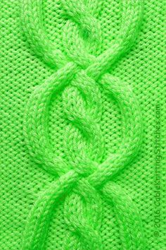 Cable Knitting Stitches » Cable panel 12 » Four Band Knot