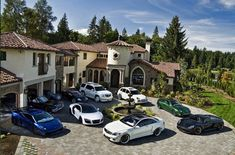 These car garages are truly remarkable. From a private collection of Ferrari's to Rolls Royce's, these garages are every bro's dream. Enjoy these 50 awesome car garages and let us know what your favorite is in the comments below Garages, Glamping, Bungalow, Luxury Lifestyle Women, Rich Lifestyle, Wealthy Lifestyle, Billionaire Lifestyle, Luxury Garage, Car Goals
