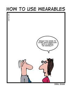 OK Google by Geek&Poke
