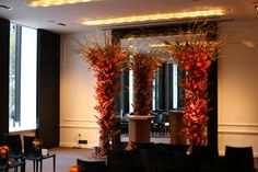 Custom built ceremony structure for Flowerful Events