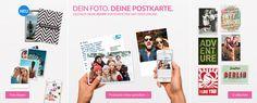 MyPostcard Postkarten App - Echte Postkarten gestalten und online versenden. Vom Smartphone als App oder Webseite weltweit verschicken. #foto