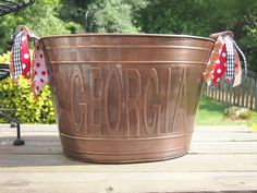 Georgia Beverage Bucket via Etsy.