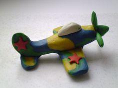 Как сделать самолёт из пластилина