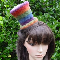 Re-pin this Rainbow Striped Mini Felt Top Hat for a chance to win it! You have from Friday (2/24) to  March 2nd, then we will pick a winner. The winner can pick any of the items they re-pinned, so you can re-pin them all!