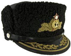 Soviet Navy Admiral's Winter Visor Cap