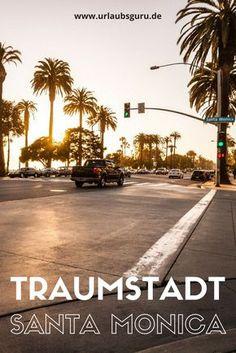 Santa Monica - A real dream city in California - USA Reisen - Urlaub Travel Around The World, Around The Worlds, Les Illuminations, Hobby World, Travel Tags, California Love, Santa Monica California, Dream City, Road Trip Usa