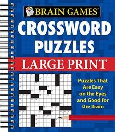 Brain Games Crossword Puzzles Large Print (Brain Games (Unnumbered)) PDF