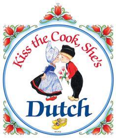 Ceramic Cheeseboard: Dutch Cook – DutchNovelties